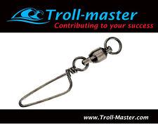 Troll-Master Ball-Bearing Swivels with Coastlock Snaps #7 200 lbs (LOT of 24)