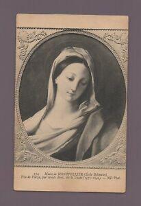 Tête De Jungfrau von Guido Reni Genannt Der Guide - Museum Montpellier (K9063)