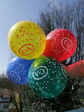 C+A RIESIG 5 Qualatex C&A Luftballons STERNCHEN BLAU Looner Party Fetisch NEU (1