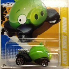 Hot Wheels Angry Birds Minion Pig 2012 No 35 Green Genuine 2013
