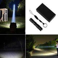 Mini Useful 3W LED Waterproof Flashlight Medical Light Small Torch Lamp Keychain