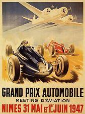 Kunstplakate SPORT ADVERT MOTOR RACE BERCELONA SPAIN FORMULA GRAN PREMIO POSTER PRINT LV3881 Kunst