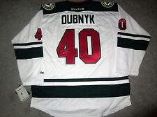 DEVAN DUBNYK Minnesota Wild SIGNED Autographed JERSEY w/COA New X-Large XL