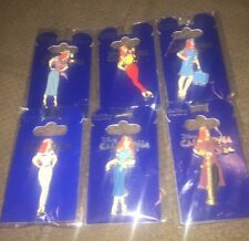 Disney Pin Wdi Le 150 Jessica Dressed As Cast Member Costume Full Set Of 6 2012