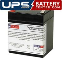 This is an AJC Brand Replacement Vision CP1245H 12V 5Ah UPS Battery
