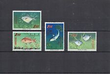 CHINE FORMOSE série poissons  N° Yvert 518/521 4 timbres neufs X