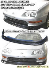 Mu-gen Style Front Lip (Urethane) Fits 98-01 Integra 2dr