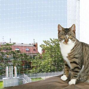 Katzenschutznetz Katzennetz transparent verschiedene Größen