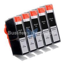 5 BLACK 564 564XL New Ink Cartridge for HP PhotoSmart 7525 B210 C310 C410 C6340