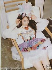 """F(X) """"ELECTRIC SHOCK - GIRL IN CHAIR"""" MALAYSIAN PROMO POSTER - Pop/K-Pop Music"""
