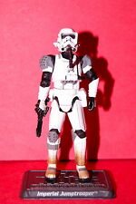 STAR WARS 30TH UNLEASHED IMPERIAL JUMPTROOPER LOOSE