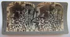 U.S. MARINES & SAILORS - WW1 STEREO CARD PHOTO