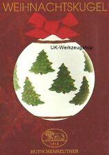 * 2 Stück  Hutschenreuther Weihnachtskugel Porzellankugel 2007