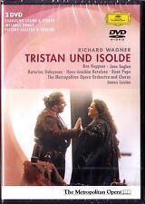 2.DVD WAGNER: TRISTAN UBD ISOLDE Ben Heppner Jane Eaglen Rene Pape JAMES LEVINE