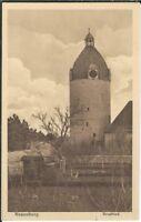 Ansichtskarte Schloß Neuenburg - Blick auf den Bergfried - Verlag Finke - s/w