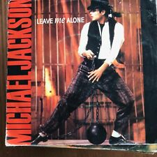MICHAEL JACKSON - LEAVE ME ALONE / HUMAN NATURE - SINGLE EPIC UK 1989