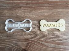 Dog Bone Yummies Cookie Cutter Puppy Pup Pet Pupcake topper cake