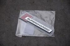 Audi A6 S6 A7 S7 Q7 Fender Emblem Badge Nameplate Supercharged New Genuine OEM