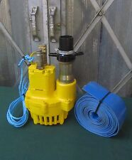 JCB Hydraulic Water Pump Submersible Pump For Beaver Breaker Site Pump
