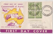 Stamps Australia 2d queen imprint Neville Menz Darling Downs generic cachet FDC