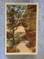 Vintage Postcard Hanging Rock, Mt. Pleasant, Lancaster, Ohio