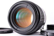 Mint NIKON Ai-s AIS Micro NIKKOR 105mm f/2.8 Prime MF SLR Lens From Japan Caps