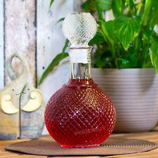 Crystal Glass Drinks Decanter Server Carafe Whisky Brandy Sloe Gin Sherry Spirit
