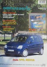 Meriva Revue technique carrosserie Opel