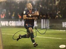 Paris Saint Germain PSG Kylian Mbappe Autographed Signed 8x10 Photo JSA COA