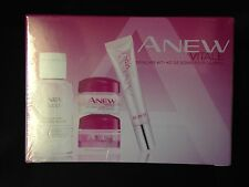 AVON ANEW VITALE 14 DAY SKIN CARE SYSTEM, CLEANSER, DAY, NIGHT & EYE CREAM