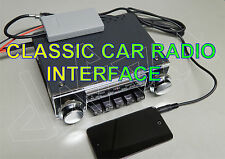UPGRADED CLASSIC CAR RADIO MOTOROLA RADIOMOBILE  mP3 INTERFACE IPOD,IPHONE