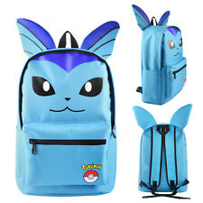 Pokemon Pikachu Eevee Umbreon Bag Backpack With Ear Rucksack Large School Travel Flareon