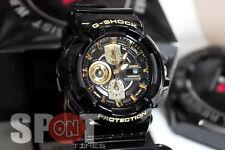 Casio G-Shock Garish Black Gold Men's Watch GAC-100BR-1A