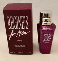 REGINE'S For Men  Eau De Toilette Natural Spray 3.3 oz. 100 ml NEW NIB