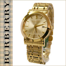 Burberry Men's BU1393 Heritage Gold-Plated Stainless Steel Gold Dial Watch