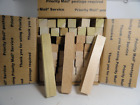 Box Lot Mixed Pen Blanks 1x1x5 3/4 TURNING LATHE LOT of 56 pieces Free Shipping!