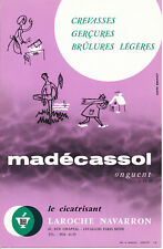 BUVARD PHARMACEUTIQUE - Cicatrisant MADÉCASSOL / LAROCHE NAVARRON