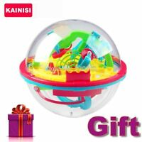 100 Steps 3D puzzle Ball Magic Intellect Ball with gift educational toys Puzzle