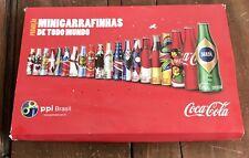 Coca Cola Brasil Sammler Set Mini Flaschen Alu Weltmeisterschaft Worlcup Copa