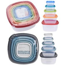 Vorratsdosen Set 10-tlg Frischhaltedosen Gefrierdosen Aufbewahrungsdosen