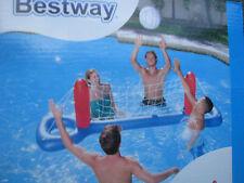 Volleyball Set aufblasbar Volleyballnetz Ball  Bestway 244x64cm Wasserspielzeug