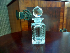 Empty Perfume Scent Square Glass Bottle With Stopper
