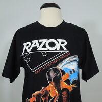 RAZOR Executioner's Song T-Shirt Black Men's size XL (NEW)