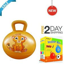 Space Hopper Ball Sit Bounce and Jump Fun Play Toy Perfect Cool Gift for Kids US