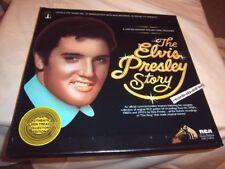 ELVIS PRESLEY-THE STORY (5 DISCS) RCA DML5-0263 BOX SET NM/VG+ VINYL RECORD LP