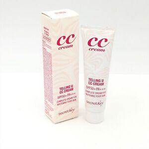 Secret Key Telling U CC Cream SPF50 PA+++, 30 ml/ 1.01oz