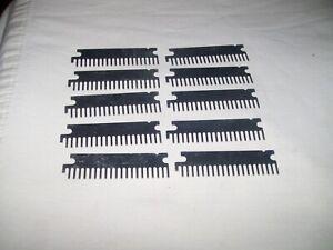 Lot of 10 Vintage Unused Uncut Combs for Regency WHAMO O WHAMO 10 Scanner