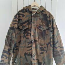 Levi's X Justin Timberlake Camo Sherpa Hooded Jacket - Large - L