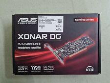 ASUS Xonar DG 5.1 PCI Soundkarte NEU+OVP