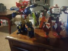 Transformers Energon Jetfire and Ironhide